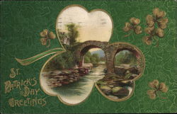 St Patrick's Day Greetings Postcard