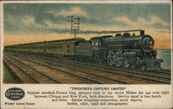 "New York Central Lines - ""Twentieth Century Limited"""