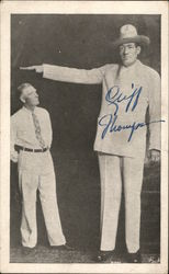 Tallest Man in the World, Cliff Thompson Blatz Brewing Company