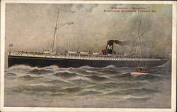 "Northern Michigan Transit Co. - Steamship ""Manitou"""