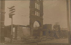Baldwin Theater Fire, January 1909