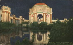 Fine Arts Palace, Illuminated