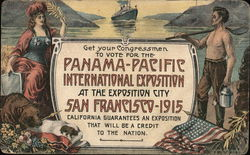 Get Your Congressman To Vote for the Panama-Pacific International Exposition