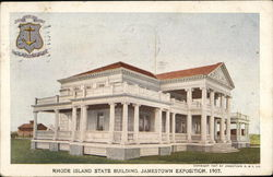 Rhode Island State Building, Jamestown Exposition, 1907