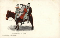 The Enthusiasm of Youth Postcard