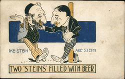 Two Men Talking, Ike Stein and Abe Stein