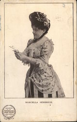 Marcella Sembrich Postcard