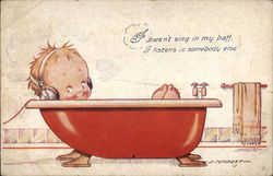 Singing in the Tub...