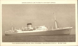 "Union-Castle Royal Mail Steamer ""Edinburgh Castle"""