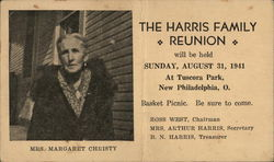 The Harris Family Reunion - Mrs. Margaret Christy