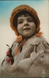 Young Girl with a Brown Bonnet