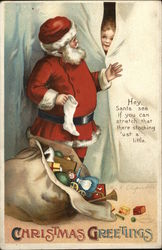 Christmas Greetings - Hey Santa