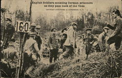 English Soldiers and German Prisoners