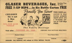 Glaser Beverages, Inc. 7up