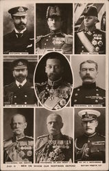 British Royalty and Military Leaders
