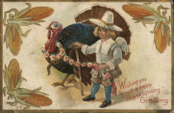 Wishing you a Happy Thanksgiving Greeting