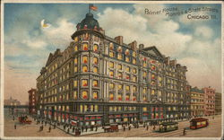 Palmer House - Monrose & State Streets Postcard