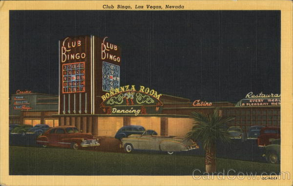 Club Bingo, Located on Highway 91 Las Vegas Nevada