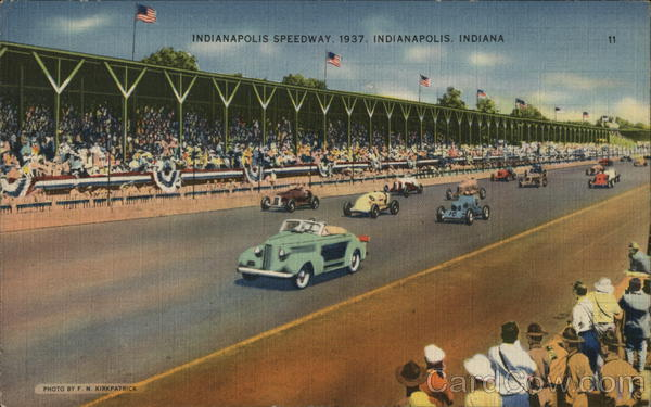 Indianapolis Speedway Auto Racing