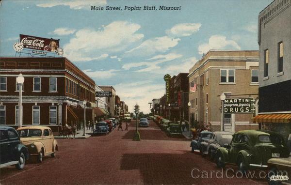 Main Street View Poplar Bluff Missouri