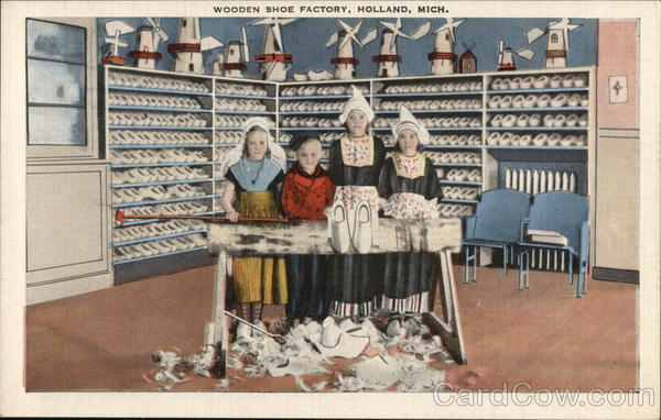 Wooden Shoe Factory Holland Michigan