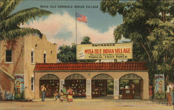 Musa Isle Indian Village Miami Florida
