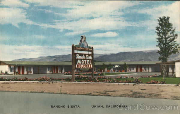 Rancho Siesta Motel Ukiah California