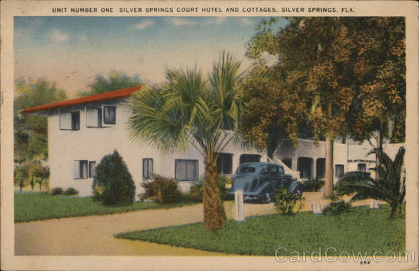 Unit Number One - Silver Springs Court Hotel & Cottages Florida