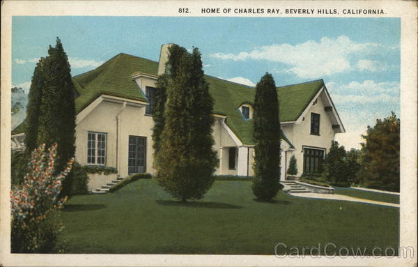 Home of Charles Ray Beverly Hills California