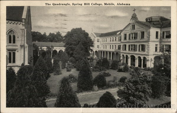 Spring Hill College - The Quadrangle Mobile Alabama