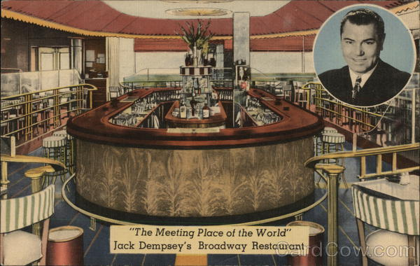 Jack Dempsey's Broadway Restaurant New York City
