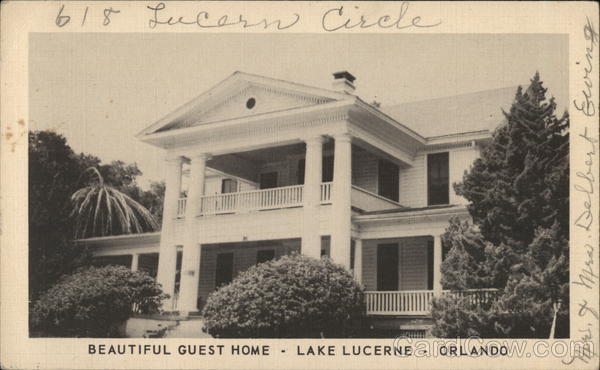 Guest Home, Lake Lucerne Orlando Florida