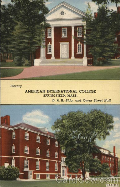 American International College, Two Buildings Springfield Massachusetts