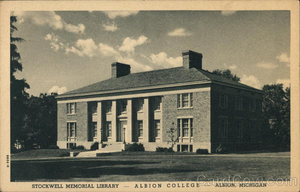 Albion College - Stockwell Memorial Library Michigan