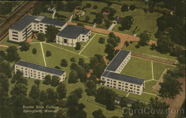 Baptist Bible College, Aerial View Springfield Missouri
