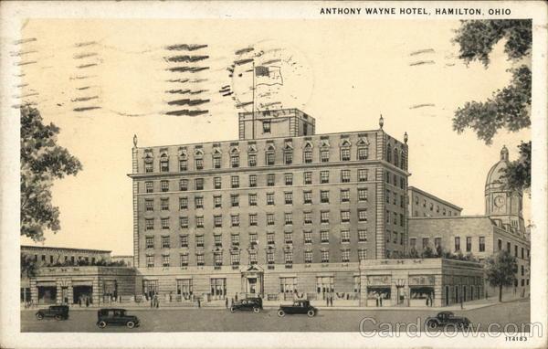 Anthony Wayne Hotel Hamilton Ohio