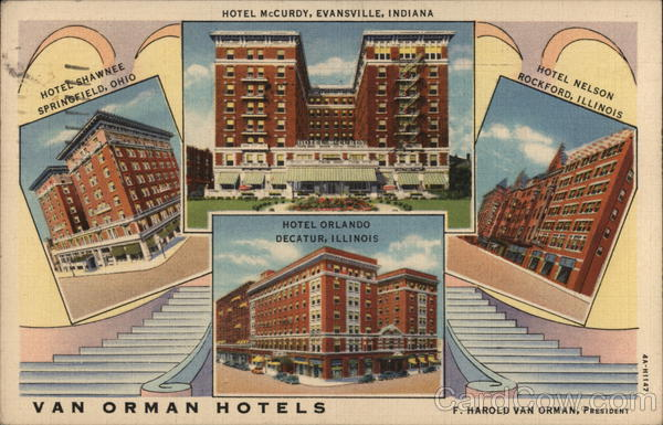 The Van Orman Hotels Advertising