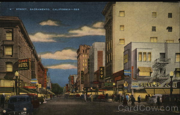 K Street - Sacramento's Main Business Thoroughfare California