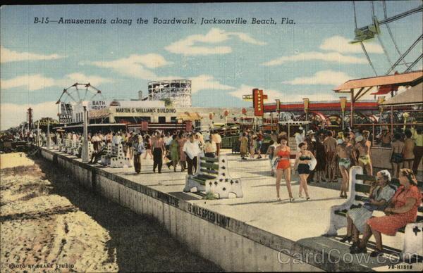 Amuts Along The Boardwalk