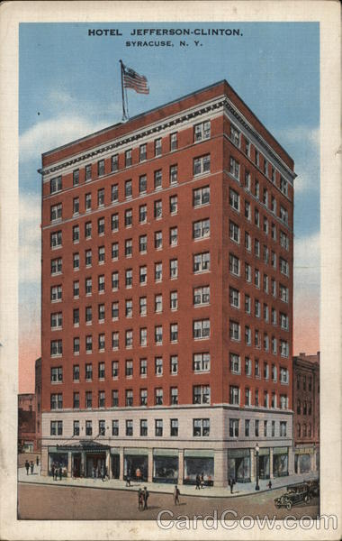 Hotel Jefferson-Clinton Syracuse New York