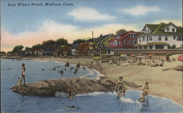 East Wharf Beach Madison Connecticut