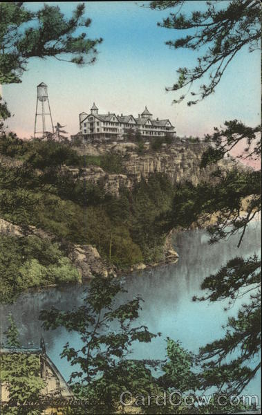 Cliff House from Wildmere Saddle Horse Stand, Lake Minnewaska Kerhonkson New York