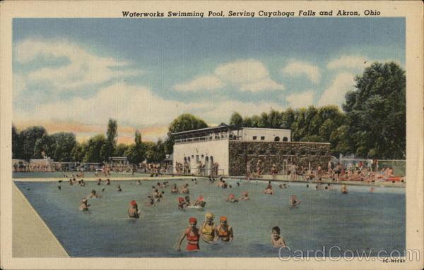 Waterworks Swimming Pool Cuyahoga Falls Ohio