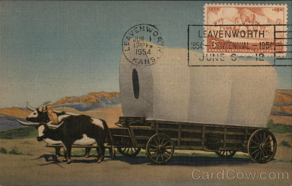 THE COVERED WAGON PRAIRIE SCHOONER OF THE WEST Albuquerque New Mexico