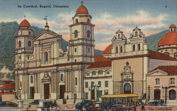 The Cathedral Bogota Colombia South America