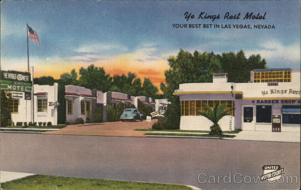 Ye Kings Rest Motel Las Vegas Nevada