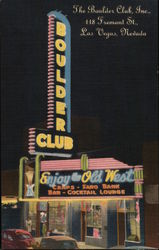 The Boulder Club, Inc., 118 Fremont St.