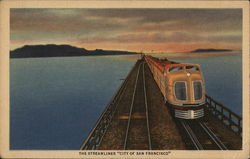 "The Streamliner ""City of San Francisco"""