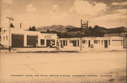 Steamboat Motel and Motel Service Station