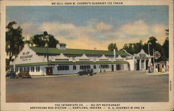 The Interstate Co. - Nu-Joy Restaurant, Greyhound Bus Station - U. S. Highway 41 and 24